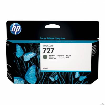 Cartucho de tinta HP 727 Preto Mate PLUK 130ml