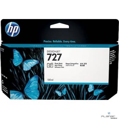 Cartucho de tinta HP 727 Preto Mate PLUK 300ml