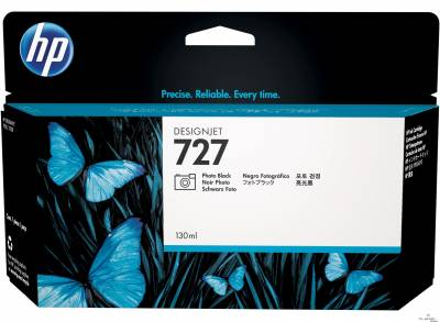 Cartucho de tinta HP 727 Preto Photo PLUK 130ml