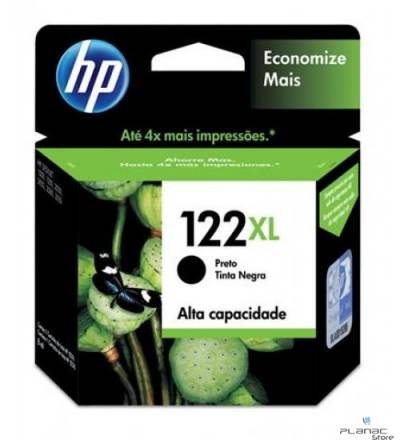Cartucho Tinta HP 122XL Preto