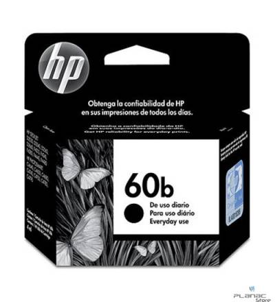 Cartucho Tinta HP 60b Preto EVERY DAY