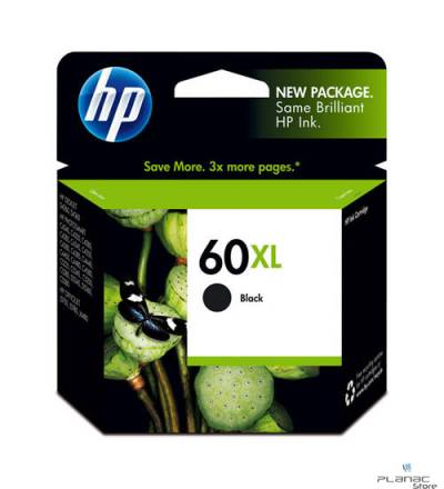Cartucho Tinta HP 60XL Preto