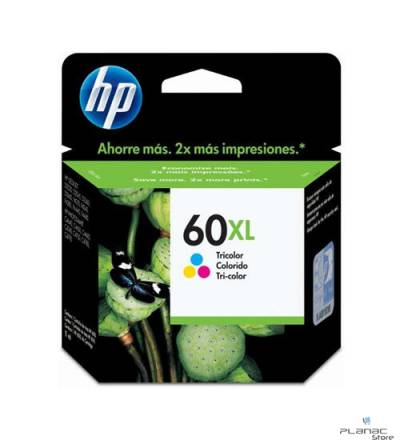 Cartucho Tinta HP 60XL Tricolor