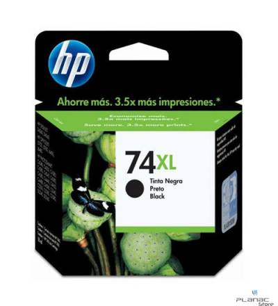 Cartucho Tinta HP 74XL Preto