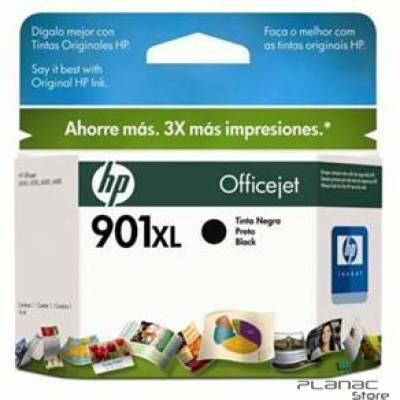 Cartucho Tinta HP 901XL Preto