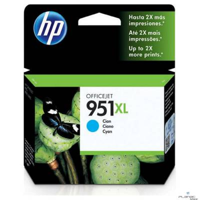 Cartucho Tinta HP 951XL Ciano