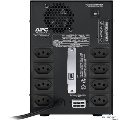 No Break APC BACK-UPS 2200VA  Bi/115v Brazil