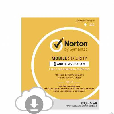 Norton Mobile Security 1 dispositivo ? ESD 21382364
