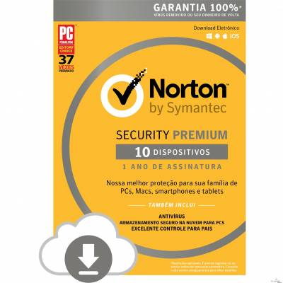 Norton Security Premium 10 dispositivos - ESD 21355181