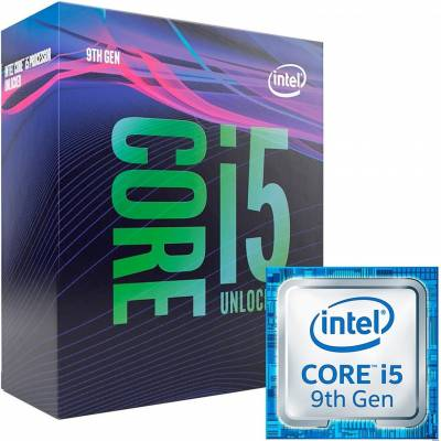 Processador Intel Core I5 9600K 3.7GHz 9MB Coffee Lake 1151